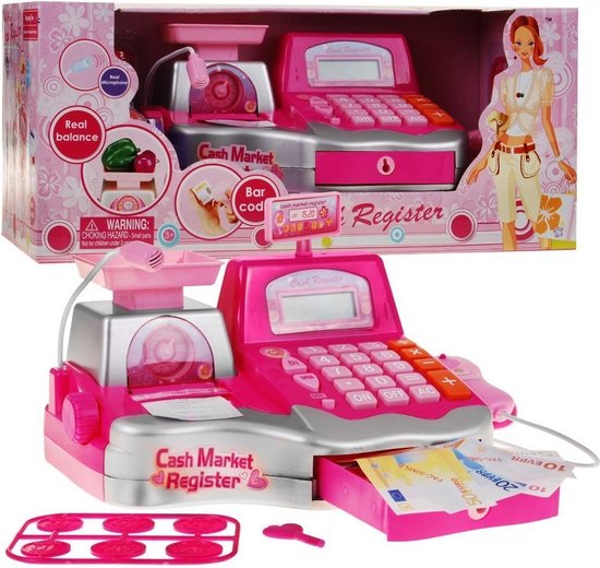   Speelgoed Kassa met Scanner Licht en Geluid en
