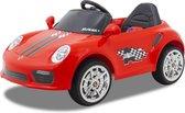 Kijana Porsche - Elektrische Kinderauto - Accu Auto - Sterke Accu - Afstandbediening - Rood