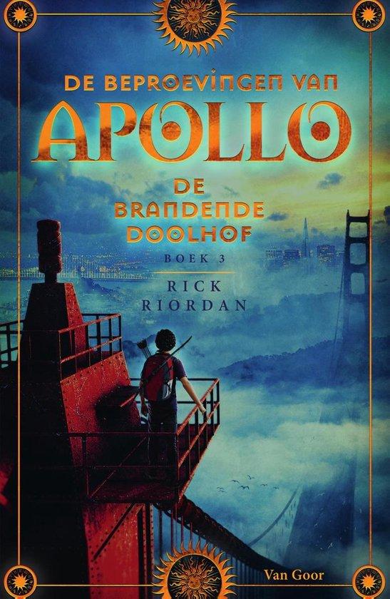 De Beproevingen van Apollo 3 - De brandende Doolhof - Rick Riordan |