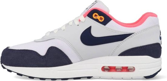 | Nike Air Max 1 319986 116 Wit Blauw Roze 39