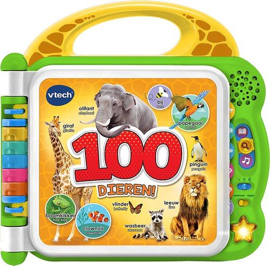 VTech Baby Mijn Eerste 100 Woordjes Dieren - Interactief Boek