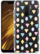 Xiaomi Pocophone F1 Hoesje Diamonds