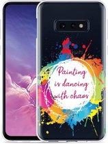 Galaxy S10e Hoesje Painting