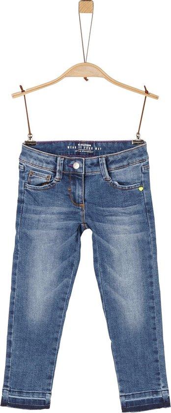 | s.Oliver Meisjes Jeans blauw Maat 122