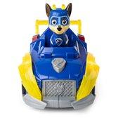 PAW Patrol, Mighty Pups Super PAWs luxe voertuig van Chase met lichten en geluiden