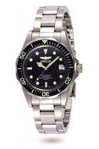 Invicta Pro Diver 8932 horloge - Mannen - Zilverkleurig - Ø 37.5 mm