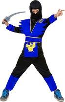 """""""Blauw ninja kostuum voor jongens - Kinderkostuums - 104-116"""""""