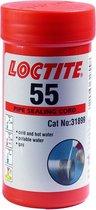 Loctite 55 gas/water afdichtingskoord 150mtr