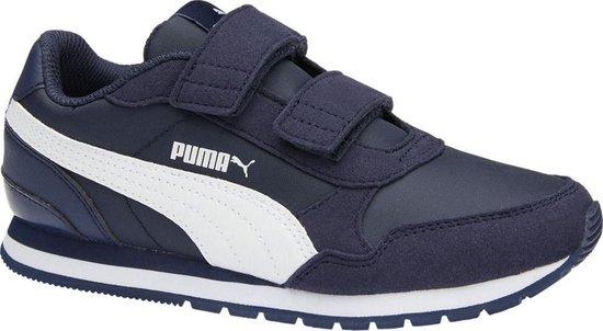 Puma Jongens Sneakers St Runner V2 Sd Ps - Blauw - Maat 34