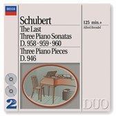 Last Three Piano Sonatas/3 Piano Pieces