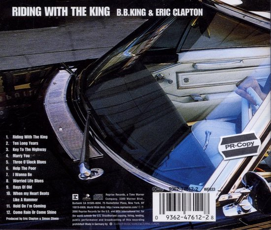 Riding With The King - Eric & Bb King Clapton