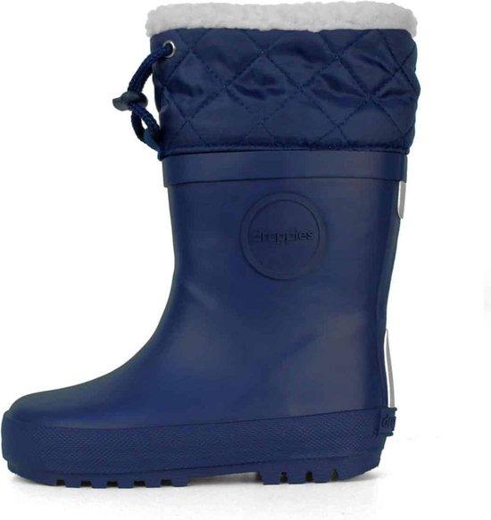 Druppies Regenlaarzen Gevoerd Winter Boot Donkerblauw Maat 26