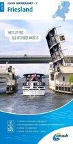 ANWB waterkaart 1 - Friesland 2019