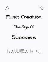 Blank Music Sheet Notebook