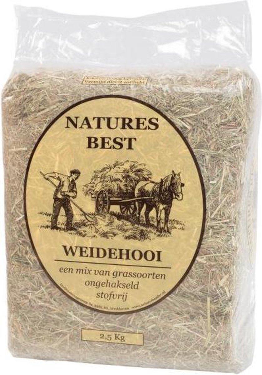 Natures Best Weidehooi Bodembedekking - 2.5 KG (4 stuks) - Nature's Best
