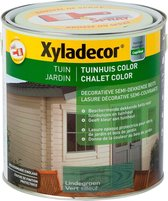 Xyladecor Tuinhuis Color - Houtbeits - Lindegroen - Mat - 2,5L