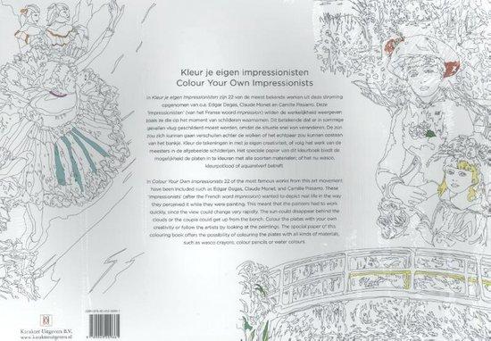 Kleur je eigen impressionisten - none   Readingchampions.org.uk