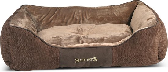 Scruffs - Chester hondenmand - Bruin - XL - 90 x 70 cm