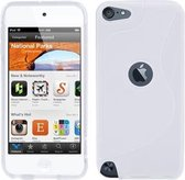 iPod Touch 5G 6G - TPU Flex Bescherm-Hoes Skin - Wit S-Line