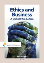 Boek cover Ethics and Business van Bart Wernaart