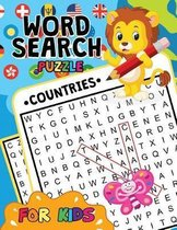 Countries Word Search Puzzle for Kids
