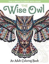 Wise Owl Adult Coloring Book