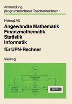 Angewandte Mathematik, Finanzmathematik, Statistik, Informatik Fur Upn-Rechner