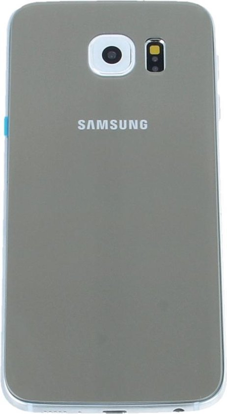Achterkant Glas Back Cover geschikt voor Samsung Galaxy S6 Edge Goud Gold reparatie onderdeel