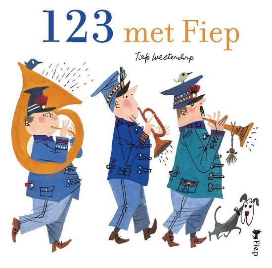 Cover van het boek '123 met Fiep' van Fiep Westendorp