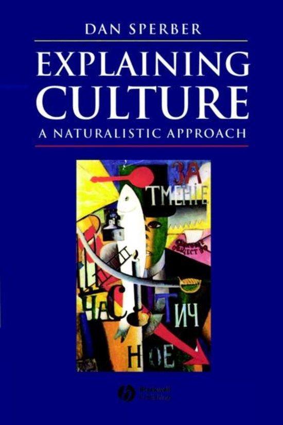 Boek cover Explaining Culture van Dan Sperber (Paperback)