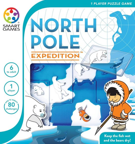 Smart Games North Pole Expedition (80 opdrachten)
