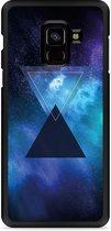 Galaxy A8 Plus 2018 Hardcase Hoesje Space