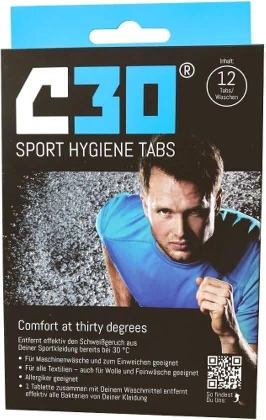 C30 Sport Hygiene Tabs (12 tabs)