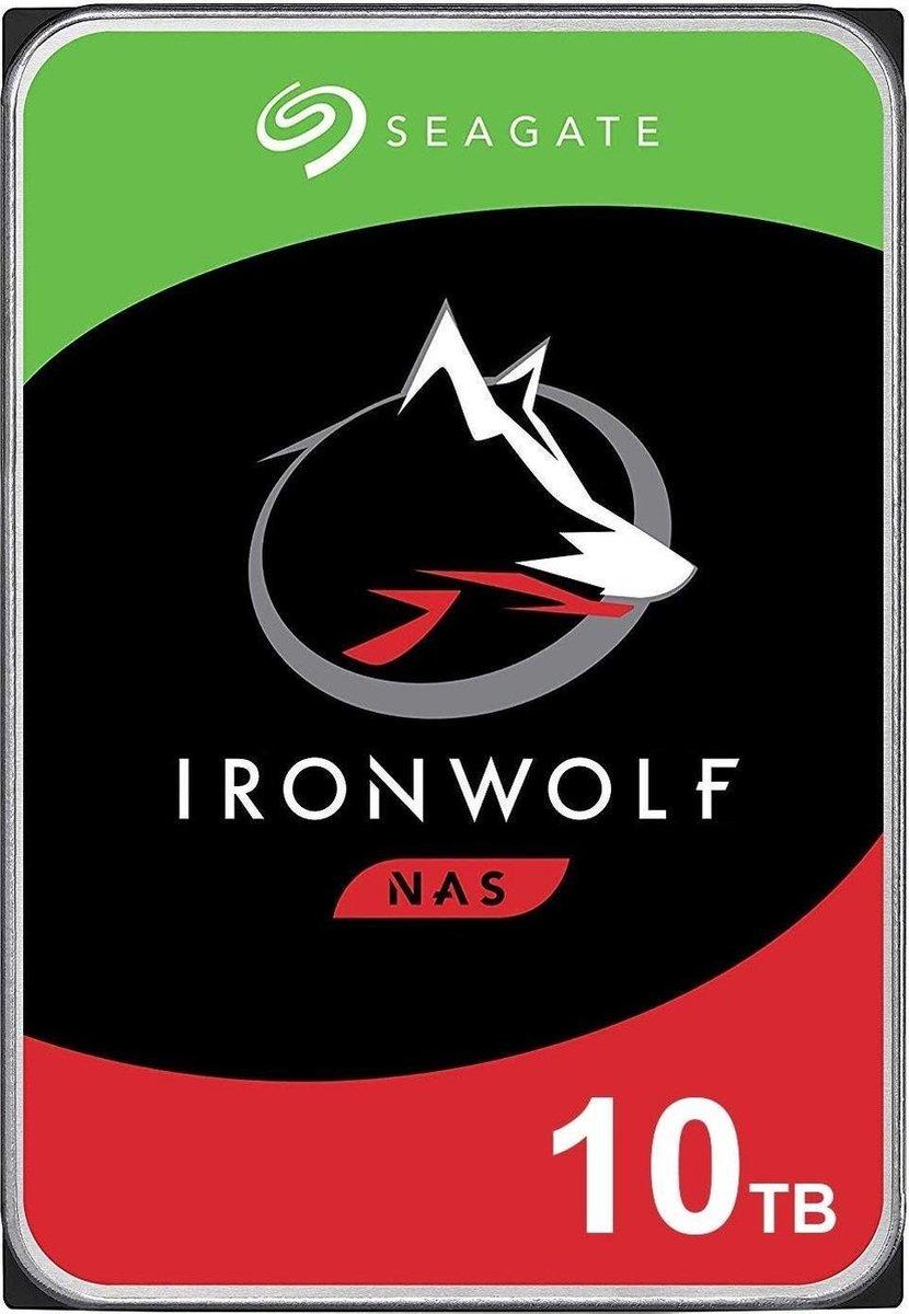 Seagate NAS HDD IronWolf 3.5'' 10000 GB SATA III kopen
