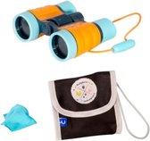Verrekijker voor Kinderen - Imaginarium - Kinderverrekijker 4 x ZOOM - Speelgoedverrekijker met Opbergtasje