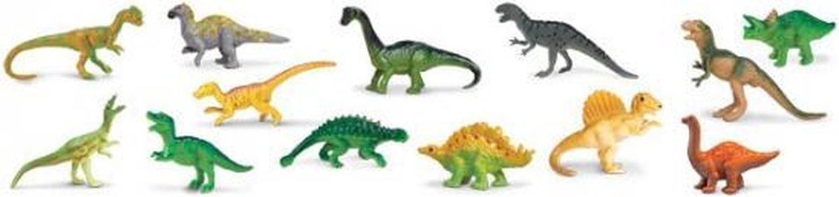 Plastic dinosaurussen 13 stuks - Merkloos