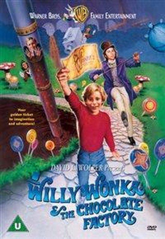 Cover van de film 'Willy Wonka & The ..'