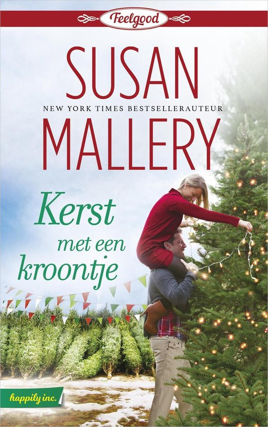 Boek cover Kerst met een kroontje van Susan Mallery (Onbekend)