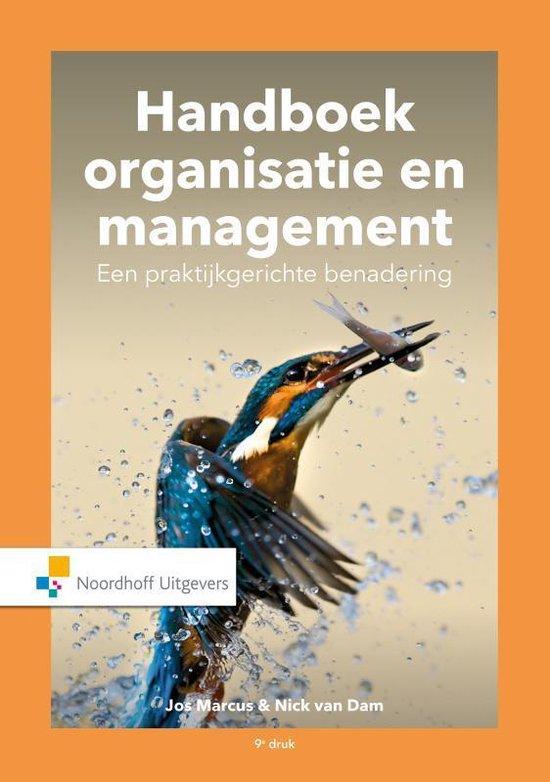 Boek cover Handboek Organisatie en Management. Een praktijkgerichte benadering van Jos Marcus