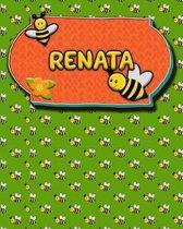 Handwriting Practice 120 Page Honey Bee Book Renata