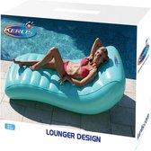 Kerlis Luchtmatras Lounger Design - 170 x 87 x 48cm