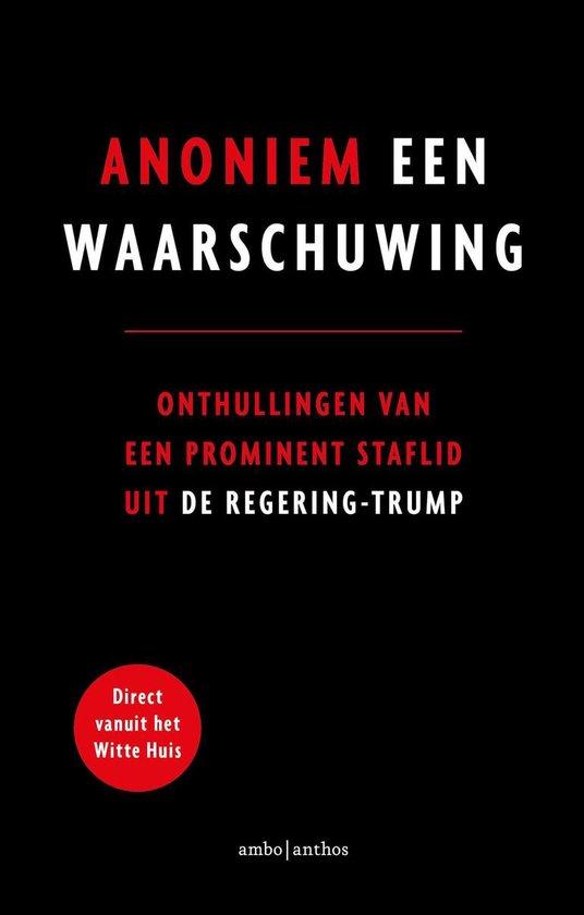 Boek cover Een waarschuwing van Anoniem