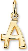Van Dam Juwelier Gouden Bedel letter A 4018416