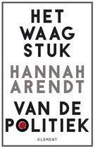 Boek cover Het waagstuk van de politiek van Hannah Arendt