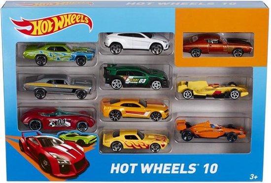 Afbeelding van Hot Wheels Cadeauset met 10 Autos