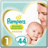 Pampers Premium Protection Luiers - Maat 1 (2-5 kg) - 44 stuks