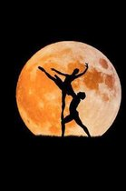 We Will Dance With The Moon Ballerina Notebook
