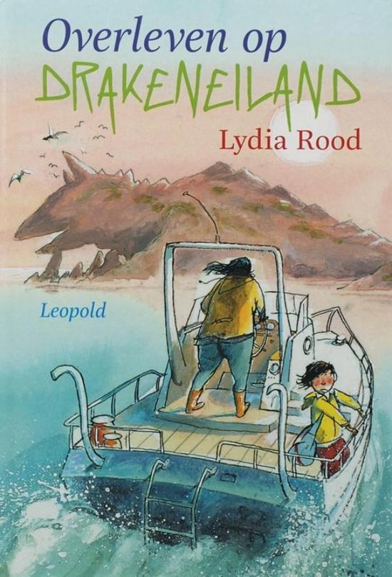 Overleven op Drakeneiland - Lydia Rood |