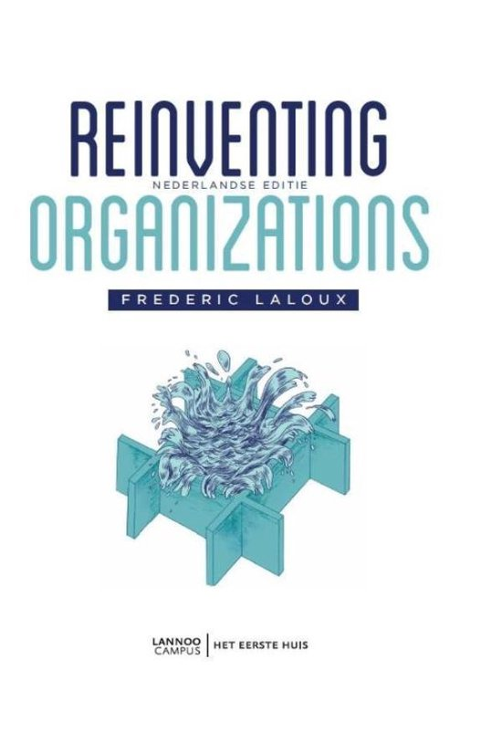 Reinventing organizations - Frederic Laloux |