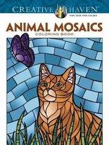 Creative Haven Animals Mosaics Coloring Book